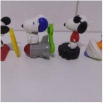 turma do snoopy 4 bonecos -  - Snoopy