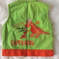 Colete dinossauro - 6 meses - Carters - Sem etiqueta