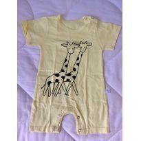 Macaquinho girafinhas - 3 a 6 meses - Aliexpress