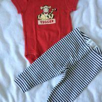 Conjuntinho tigrão - 6 a 9 meses - Baby Club