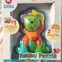 Quebra cabeça 3D, brinquedo educativo