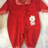 Macacão plush - 6 meses - Creep Baby