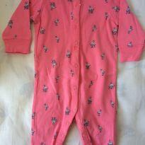 Macacão flamingos - 3 meses - Carter`s
