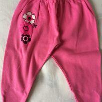 Calça de pezinho rosa - 3 a 6 meses - Baby