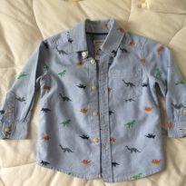Camisa carters Dinossauros - 1 ano - Carter`s