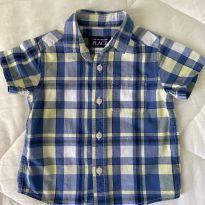 Camisa xadrez - 12 a 18 meses - The Children`s Place