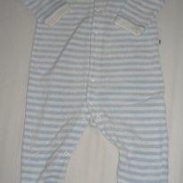 Macacão listrado azul - 9 a 12 meses - Teddy Boom