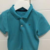 Camisa manga curta polo da Tommy T2 - 2 anos - Tommy Hilfiger