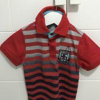 Camisa polo manga curta muito estilosa - T3 - 3 anos - Diversas