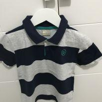 Camisa polo manga curta T 3 - 3 anos - Milon