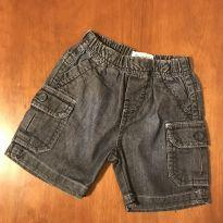 Shorts jeans confortável - Tamanho G - 9 a 12 meses - Banana Danger