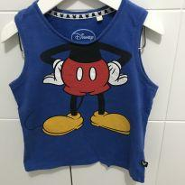 Camiseta regata do Mickey Mouse T 2 - 2 anos - Disney baby