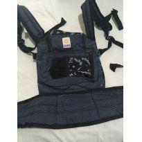 Mochila para carregar o bebê juntinho - Sampachila - Sem faixa etaria - Sampa Sling