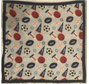 Mini Cobertor - 30x30 bem quentinho - Sem faixa etaria - Rugged Bear (EUA)