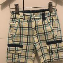 Shorts xadrez Tip Top - T3 - 3 anos - Tip Top