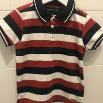 Camisa Polo - T4 - 4 anos - Pool Kids