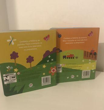 Kit 2 Livros capa dura com som - Sem faixa etaria - Ciranda Cultural