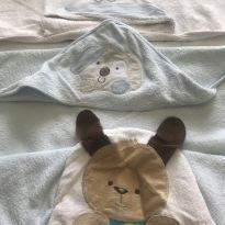Kit 3 toalhas de banho com capuz -  - Diversas
