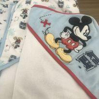 Kit 3 toalhas banho - Disney baby -  - Disney baby