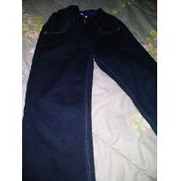 Calça Jeans Tamanho 3 Semi Nova - 3 anos - Banana Danger
