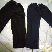 Lote 2 Calças importadas uma social e uma Jeans Tamanho 3 - 3 anos - Banana Danger