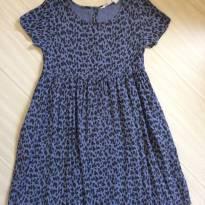 Vestido Oncinha Roxo - 7 anos - H&M