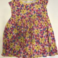 Vestido florido lindo - 3 anos - Gymboree