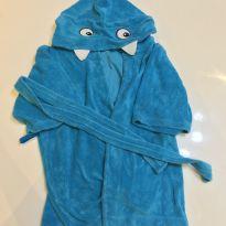 Roupão Tubarão Azul 3T - 3 anos - Tip Top