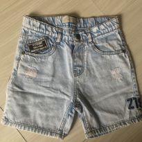 Bermuda Jeans super estilosa - 3 anos - Zara