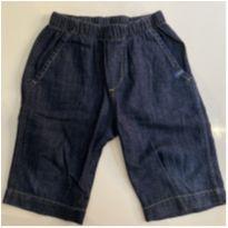Bermuda jeans molinho Nova - 24 a 36 meses - Green