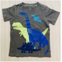 Camiseta Carter`s Dinossauros - 3 anos - Carter`s