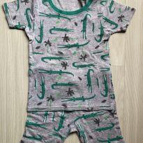 Pijama Carter`s 4T - Jacarezinhos - 4 anos - Carter`s