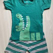 Pijama Carter`s 4T - Jacaré - 4 anos - Carter`s
