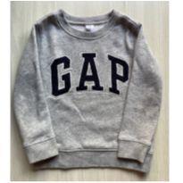 Moletom flanelado GAP 4T - 4 anos - Baby Gap