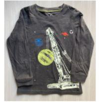 Camiseta M.Longa Carter`s 4T - 4 anos - Carter`s