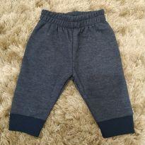 Calça Azul Marinho - 3 a 6 meses - Kyly