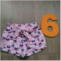 Shorts lindoo - 6 anos - Zig Zig Zaa