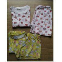 Combo kit  pijama - 2 anos - Fakini e Mafessoni