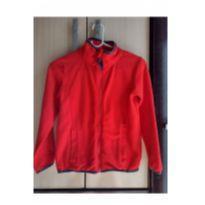 Blusa jaqueta fleece - 8 anos - Boomy