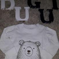 Camiseta manga longa - 9 meses - Carter`s