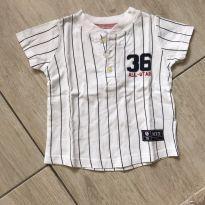 Camiseta Baysebol - 1 ano - Carter`s