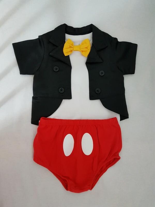 Fantasia Do Mickey 1 Ano No Ficou Pequeno Desapegos De