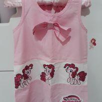 Vestido rosa - 1 ano - Riachuelo