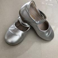 Sapato/ sapatilha Bibi prata - 23 - Bibi