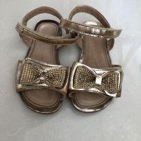Sandália Bibi dourada - 22 - Bibi