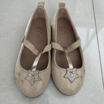 Sapatilha dourada Zara de estrelas - 23 - Zara Baby