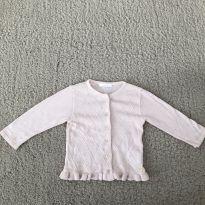 Casaquinho fofo Rosa bebê - 18 a 24 meses - Paola Da Vinci e Paola tricot