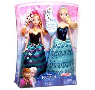6006b935fe Kit 2 Bonecas Disney Frozen - Anna E Elsa no Ficou Pequeno ...