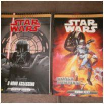 2 x Livros/Gibi Star Wars O Nono Assassino E Inimigo Do Império -  - Panini