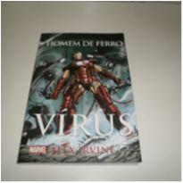 Livro Homem De Ferro Vírus - Marvel -  - Não informada